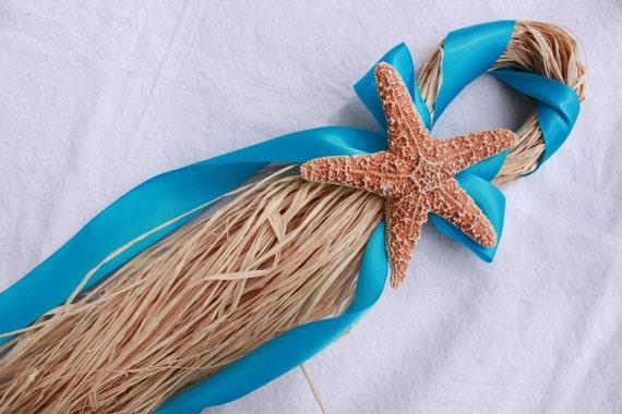 Turquoise Beach Wedding Starfish Chair Hanger