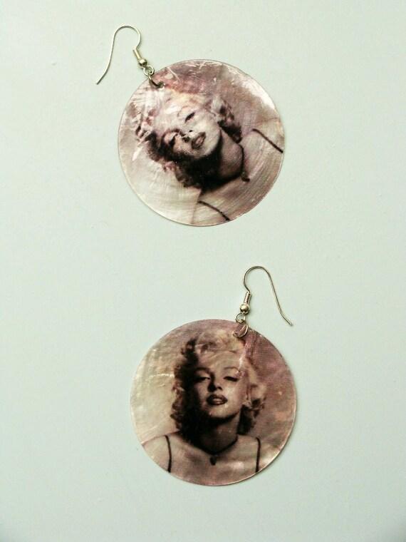 Vintage Earrings - Marilyn Monroe