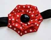 The Single Minnie Red - Disney Inspired Boutique Hair Bow
