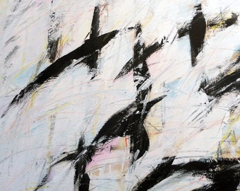 3-3-12, Black Series 2012 (black, abstract, white, cream)