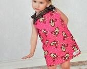 Monkey Fun Pillowcase dress/Top