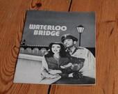 "1940 ""Waterloo Bridge"" Danish Film Program--Vivien Leigh, Robert Taylor"