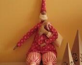 Santa Claus and his reindeer. It's Christmas Time. (Tilda)