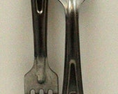 Military Forks Army silverware Primitive Utensils