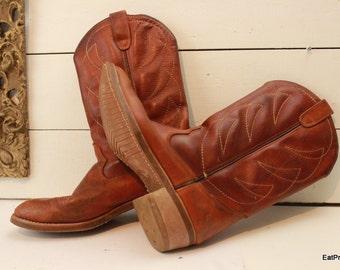 VIntage HH Cowboy Boots  Mens 9