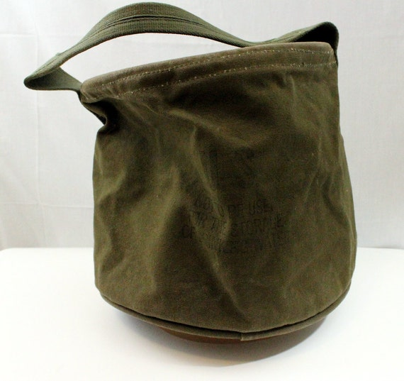 Us Army Shower Pail Army Green Bag Camping Shower