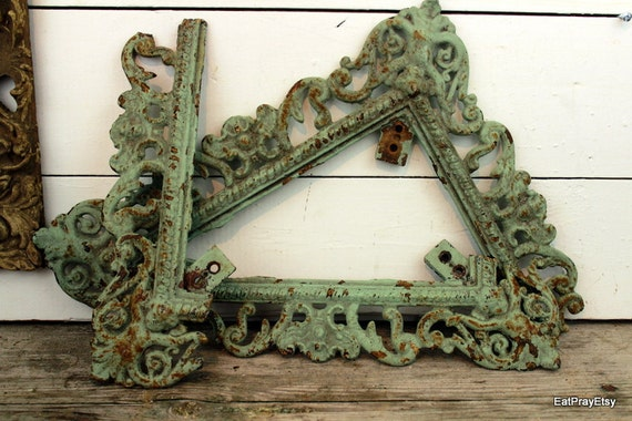 RESERVED for Nicole Achitectural Salvage Ornate Scrolling Metal