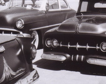 Vegas in the Morning - Chopped Dropped and Driven Vintage Cars Photo Series