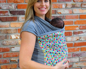 Lei Wrap Baby Carrier Sling Stretchy Jersey Knit (multi print)