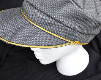 Victorian Men's Driving Cap