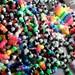 SPRING SALE- Lot of 15 Kandi Rave Bracelets W/Free Bonus Cuff - Made to Order-