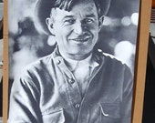 Vintage B&W 1960s Trilby Will Rogers Movie Poster NOS