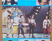 Vintage 1970's Bay City Rollers Poster Music Pop Band