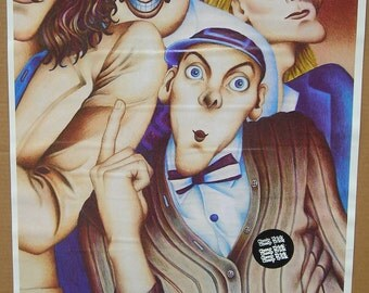 Vintage 1970's Cheap Trick Poster Rock Band Music