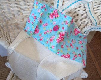 Eco friendly Folding Shopping Bag/Tote - fold up grocery bag - Strong Book BagUK Seller- UK Seller