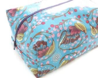 Laminated Makeup Bag - Anna Maria Horner Fabric