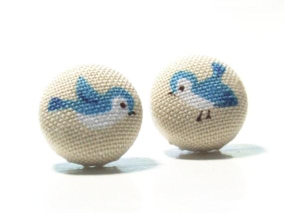 Bird Earrings Kitschy Jewelry Bird Jewelry