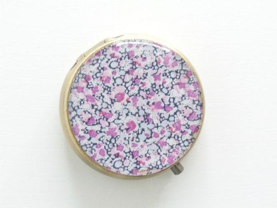 Pill Case Pill Box Floral Box Mint Case