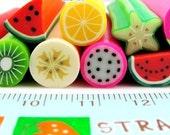 11 Pcs Japanese Big Polymer Clay Cane Miniature Food Decoration and Nail Art