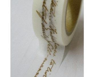 4 Rolls Japanese Washi Tape- Masking Tape -decoration Tape 15mm