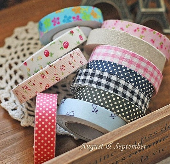 30 Pcs Rural wind only beautiful multi-function adornment Masking Tape