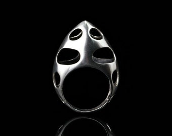Sterling Silver Bishop Ring