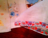 Vintage Hankies Lot , Over 30 Fancy and Crochet, and Lace edged