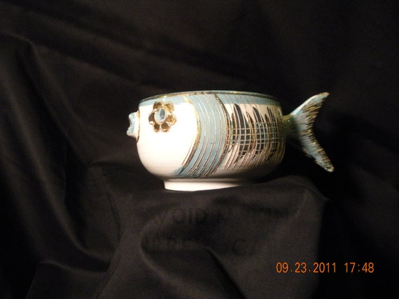 Unique Italian Fish Shaped  Cup