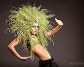 Mother Nature inspired Fantasy Headpeice Headress