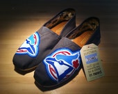 CUSTOM Hand Painted TOMS-- Sports Edition