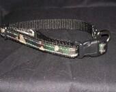 Camo adjustable collar or martingale