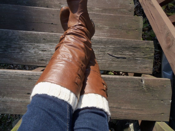PATTERN, Knit Legwarmers, Cable knit legwarmers