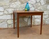 Vintage Mid Century Teak Dining Card Table Poul Hundevad Denmark Home Decor Furniture