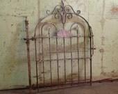 Antique Iron Gate
