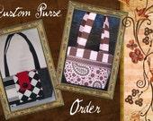 Jam Custom Designs Made to Order Purse