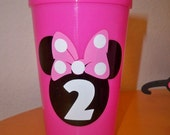 MICKEY and MINNIE BIRTHDAY party favor cups (set of 12)