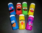 SESAME STREET BIRTHDAY party favor bubbles (price is for a set of 5)
