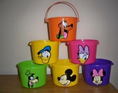 DISNEY MICKEY and MINNIE Birthday Party Favor pails (price is for one pail)