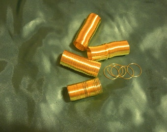 100 Coils  Memory wire 2.2CM wire: 0.6mm