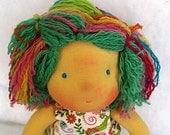 "Dorothy - 11""waldorf inspired doll,Hubavini ,2012 Summer collection dolls"