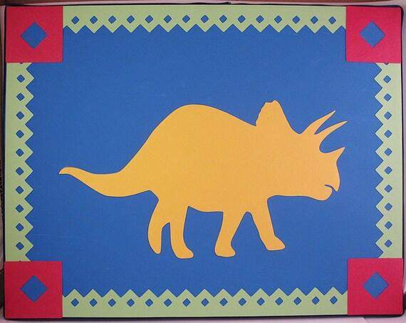Dinosaur Canvases