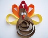 Thanksgiving Turkey Holiday sculpture clippie