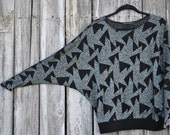 Vintage 80s Womens Sweater