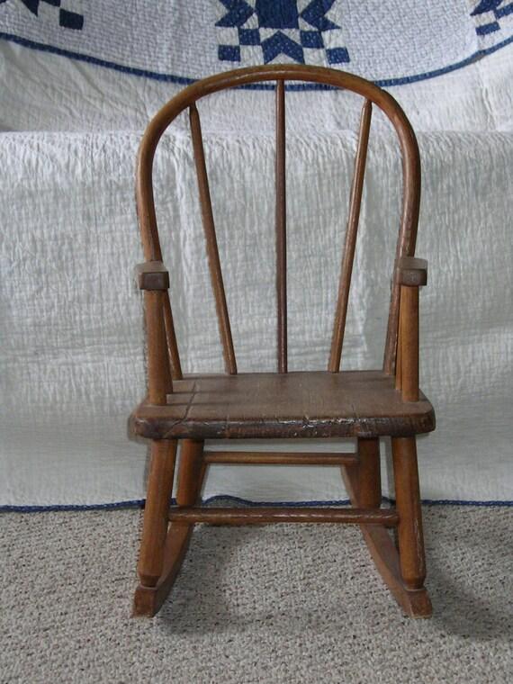 Antique Vintage Bentwood Child S Rocker Rocking Chair