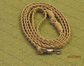 Hemp Dog Leash for Small Dogs. 5ft.