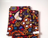 Kitchen Towel Set, Eco Friendly, Happy Birds, Multi Color