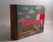 10 Reasons I Love You Mini Scrapbook Premade Album
