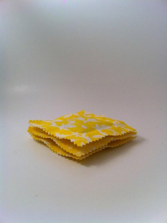 Lavender Chamomile Sachet Set, Roses, Yellow