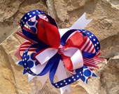 4th of July Boutique Bow