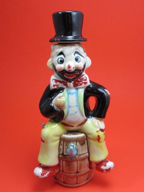 Hobo Clown Whiskey Decanter